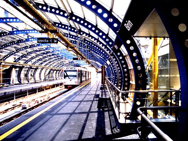 Archivio lavori Studio Archimede Stazione Metropolitana Genova