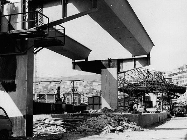 Archivio lavori Studio Archimede Sopraelevata Genova