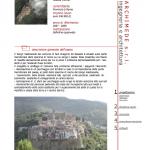 Realizzazione di un sistema di parcheggi a servi- zio del centro storico e conseguente adeguamento della viabilità nel comune di San Gregorio da Sassola (Roma)