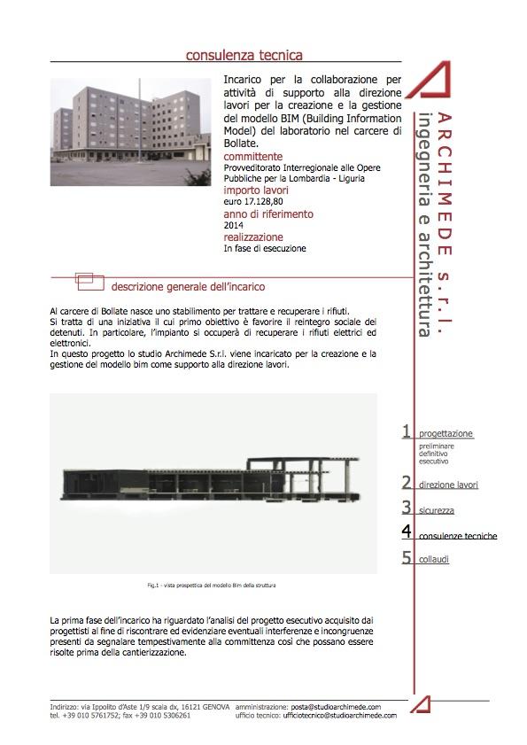 Progetto Laboratorio del carcere di Bollate