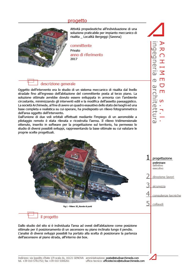 Fattibilità impianto meccanico di risalita_Bergeggi (SV)
